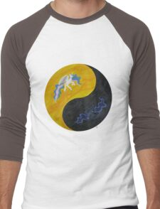 Princess Ying Yang Men's Baseball ¾ T-Shirt
