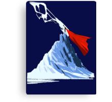 Thor atop the Mountain Canvas Print