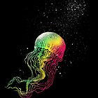 Rainbow jellyfish by barmalisiRTB