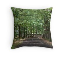 The Avenue - Hollybank Forest Reserve Throw Pillow