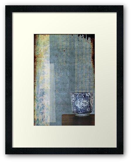 Blue Cup by Melanie  Dooley