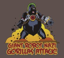 Giant Robot Nazi Gorilla II by Ross Robinson