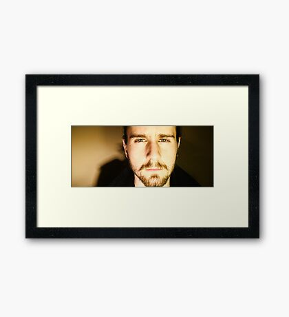 Tell Me What You See Framed Print
