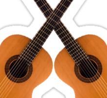 Flamenco  Guitar Sticker
