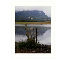 photoj Tas Mt Roland Art Print