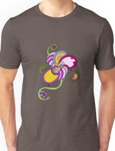 Funky Abstract Flower T-shirt Unisex T-Shirt