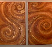 spirals by Leanne Inwood