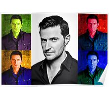 Richard Armitage Pop-Art Collage Poster
