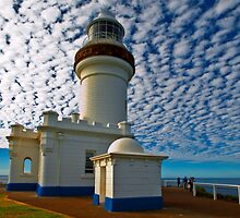 Byron Bay Lighthouse by Boyd Nesbitt