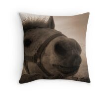 Kiss?? Throw Pillow