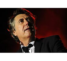 Bryan Ferry - On Red  Photographic Print