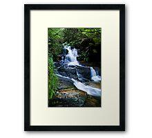 Blue Mountains Attractions - The Leura Cascades Framed Print