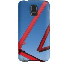 red sculpture Samsung Galaxy Case/Skin