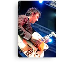 Chris Cheney with Gretsch Guitar Canvas Print