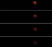 lunar eclipse by Rae Stanton