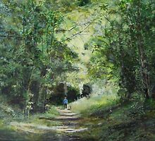 Cherry Garden Woods,Eastbourne, Sussex by David Kirkwood