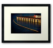 Dockland 1 Framed Print