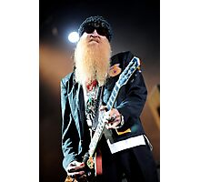 Billy Gibbons - ZZ Top Photographic Print