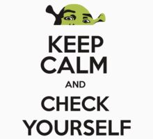 Keep Calm and Check Yourself (Before You Shrek Yourself) by Thomas Erlandsen