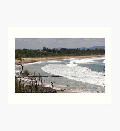 Beach (es)Scape Art Print