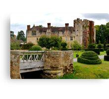 Hever Castle England Canvas Print
