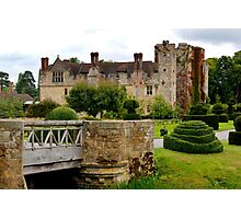 Hever Castle England Photographic Print