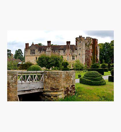 Hever Castle England Photographic Print