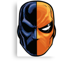 deathstroke - mask (more detail) Canvas Print