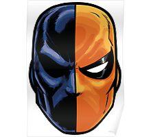 deathstroke - mask (more detail) Poster
