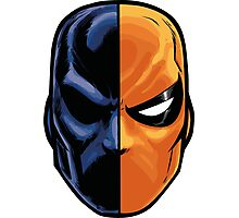 deathstroke - mask (more detail) Photographic Print