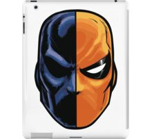 deathstroke - mask (more detail) iPad Case/Skin
