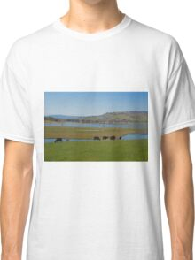 Peaceful country scene Classic T-Shirt