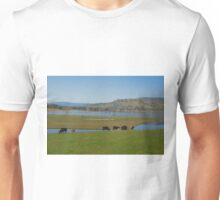 Peaceful country scene Unisex T-Shirt