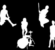 Band silhouette  by ollysdirection