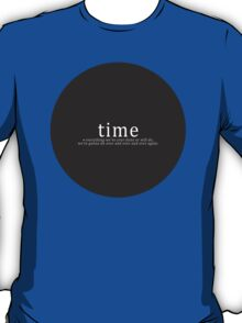 Time is a Flat Circle - True Detective T-Shirt
