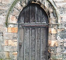 A Doorway To St. Leonard's Hospice In York's Library Gardens by AARDVARK