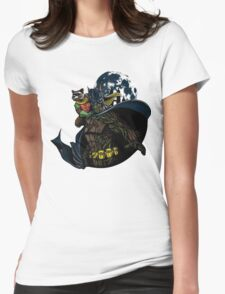 Guardians Of Gotham  Womens Fitted T-Shirt