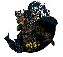Guardians Of Gotham  by RocoesWetsuit