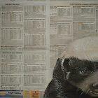 The Honey Badger - Endangered Species Project by Cherie Roe Dirksen