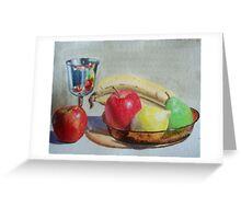 Goblet & Fruit Greeting Card