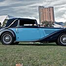 Blue MG SA Tickford Coupe National Meeting 2010 by Ferenghi