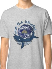save the whales - southern ocean Classic T-Shirt