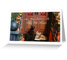 Christmas Wonder Card with Text Greeting Card