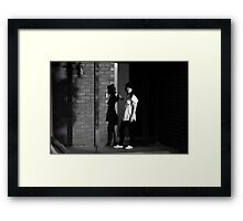 Destroy Everything You Touch Framed Print