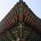 Korean Temple Gargoyle-Pulgulska Temple by Debbie Montgomery