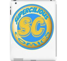 Supercilious Comics Logo iPad Case/Skin