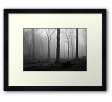 THE LAST MEN STANDING Framed Print