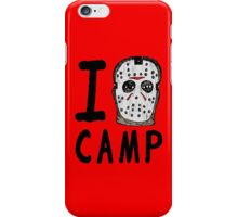 I Jason Camp iPhone Case/Skin