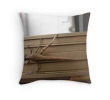One Leg Hopper Throw Pillow