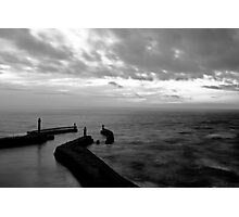 Whitby Harbour, North Yorkshire Photographic Print